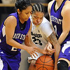 "Colorado's Chucky Jeffery, center, tries to get the ball from Justine Johnson (2) of Weber State.<br /> For more photos of the game, go to  <a href=""http://www.dailycamera.com"">http://www.dailycamera.com</a>.<br /> December 17, 2011 / Cliff Grassmick"