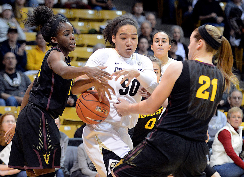 Colorado Arizona State NCAA Women's Basketball28  Colorado Arizo