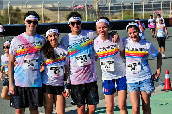 Color Run - Dubai