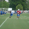 Andrew Luck completes a handoff to Reggie Wayne