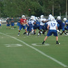 Andrew Luck laterals to Austin Collie