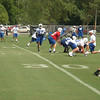 Reggie Wayne in motion prior to the snap