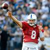 Colts quarterback Matt Hasselbeck.