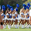 The Colts cheerleaders were present for the Tuesday evening practice in Macholtz Stadium where they entertained the large crowd that came out to see the Colts.