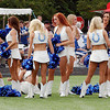 Colts cheerleaders were in the house Tuesday evening.
