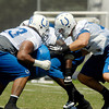 Day 2 of practice at the Colts Training Camp.