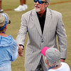 Colts owner Jim Irsay greeted guests at Sunday's Colts practice.