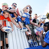Don Knight | The Herald Bulletin<br /> Colts wide receiver T.Y. Hilton signs autographs for fans after practice at Anderson University on Wednesday.