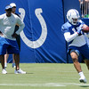 Don Knight | The Herald Bulletin<br /> First day of Colts Camp at AU on Wednesday.