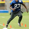 Don Knight | The Herald Bulletin<br /> Practice during Colts Camp at Anderson University on Thursday.