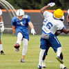 John P. Cleary | The Herald Bulletin<br /> Colts Sunday practice on their 4th day of training camp.