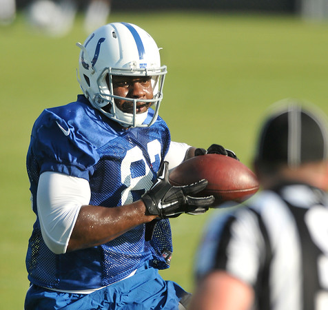 John P. Cleary   The Herald Bulletin<br /> last day of Colts Training Camp.