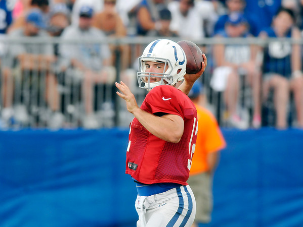 John P. Cleary   The Herald Bulletin<br /> Colts Training Camp Monday August 1, 2016.