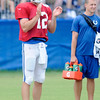 Don Knight | The Herald Bulletin<br /> Colts Camp practice at Anderson University on Thursday.