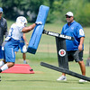 Don Knight | The Herald Bulletin<br /> Colts Camp practice at Anderson University on Tuesday.