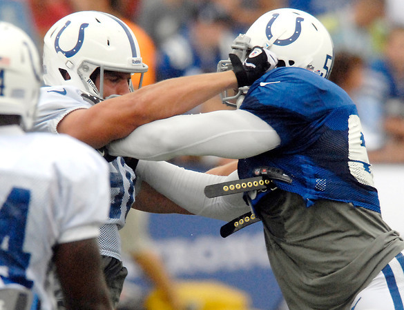 Colts Camp coverage: day3.