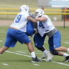 Don Knight | The Herald Bulletin<br /> First day of practice at Colts Camp.