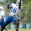 Don Knight | The Herald Bulletin<br /> Colts Camp practice Friday at AU.