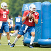 Don Knight | The Herald Bulletin<br /> Colts Camp at Anderson University on Saturday.