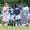 Don Knight | The Herald Bulletin<br /> Colts Camp Sunday at Anderson University.