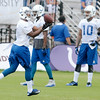 Don Knight | The Herald Bulletin<br /> Colts Camp practice at AU on Monday.