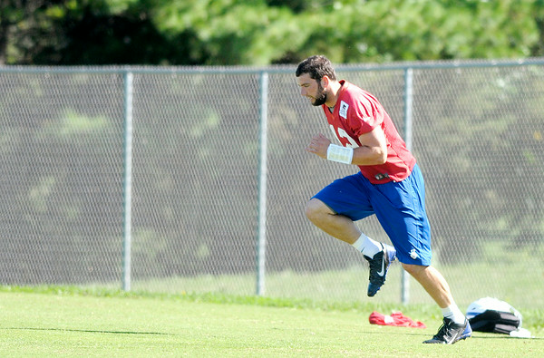 Don Knight | The Herald Bulletin<br /> Colts Camp at AU on Wednesday.