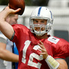 John P. Cleary | The Herald Bulletin<br /> Colts QB Andrew Luck for the Luck Watch.