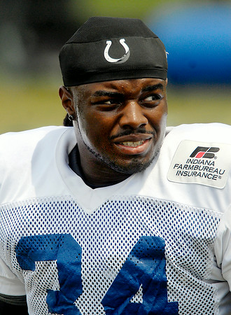 John P. Cleary | The Herald Bulletin<br /> Colts running back Trent Richardson.