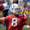 Colts rookie quarterback Chandler Harnish.
