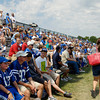 A large crowd came out for Day 3 of Colts camp.