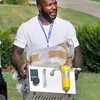 John P. Cleary | The Herald Bulletin<br /> Colts ILB D'Qwell Jackson reports to training camp.
