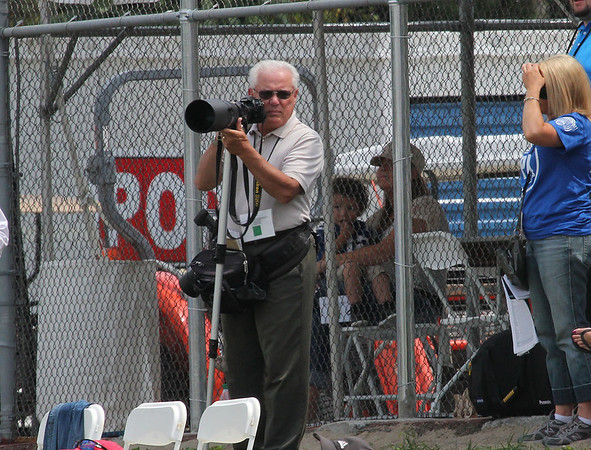 One of my favorite photographers at Colts camp on Monday.<br /> <br /> Photographer's Name: Jerry Byard<br /> Photographer's City and State: Anderson, Ind.