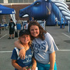 Kendall and Valerie Snyder enjoying Colts City and a great day of fun at Colts camp!<br /> <br /> Photographer's Name: Brian Snyder<br /> Photographer's City and State: Anderson, Ind.