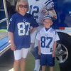 Emma and Logan Sumpter at Colts Camp 2013. Go Colts!<br /> <br /> Photographer's Name: Stephanie Sumpter<br /> Photographer's City and State: Lapel, Ind.