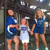 Kendall Snyder, Lilly McIntyre, Valerie Snyder at Colts City. Enjoying the day of football and family!<br /> <br /> Photographer's Name: Brian Snyder<br /> Photographer's City and State: Anderson, Ind.