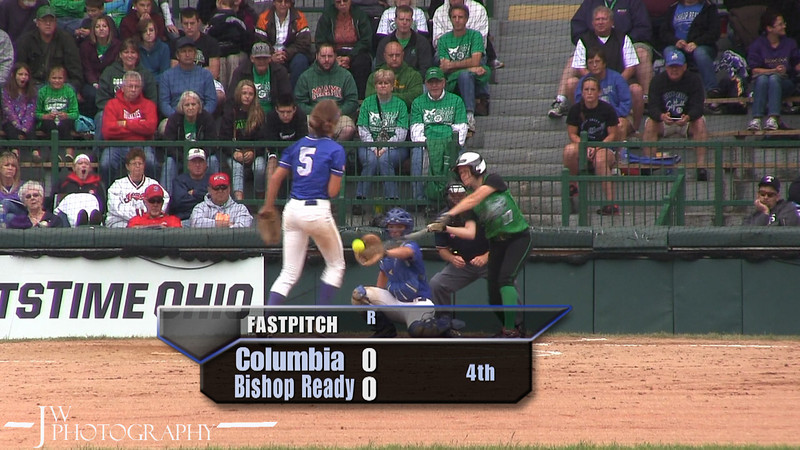 Columbia vs Bishop Ready, June 7, 2013.  Semifinal Division III Championship Playoff.  Raiders are victorious 3-1!
