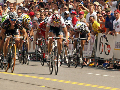 Final Sprint at the Finish Line