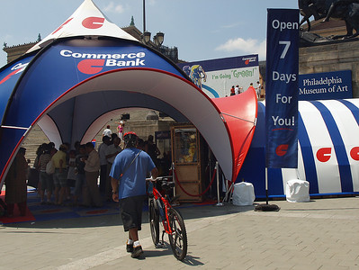 Commerce Bank Tent