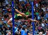 South African high jumper