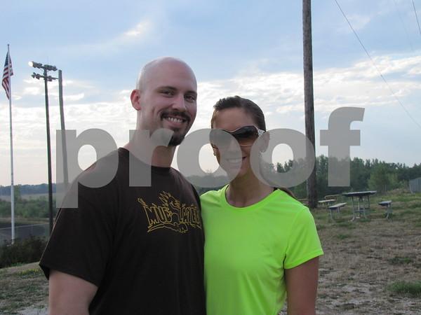 Casey Hart and Melinda Woodley