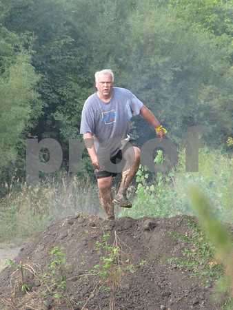 Doug Willett tackles another obstacle.