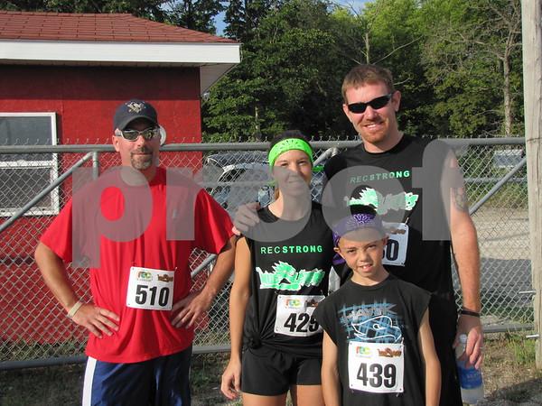 Bill Ekstrom, Ashley and Joe Tuel, and Landon VanGilder