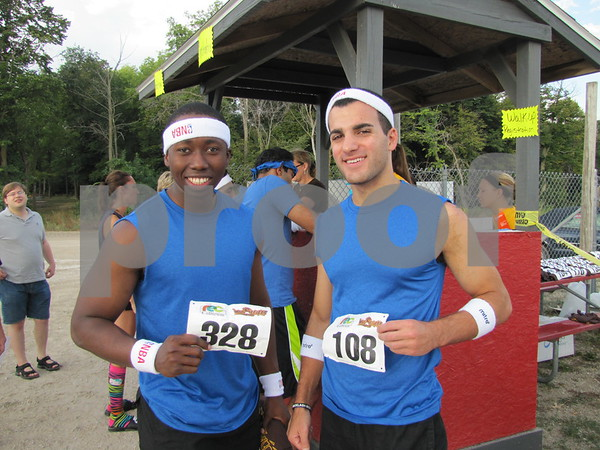 Charles Mokuolu and Joey Ammouri