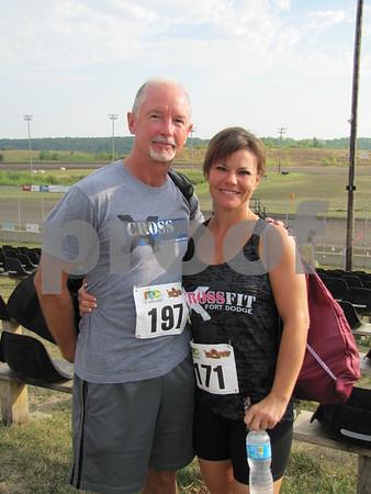 Mark Gleason and Anne Dorage