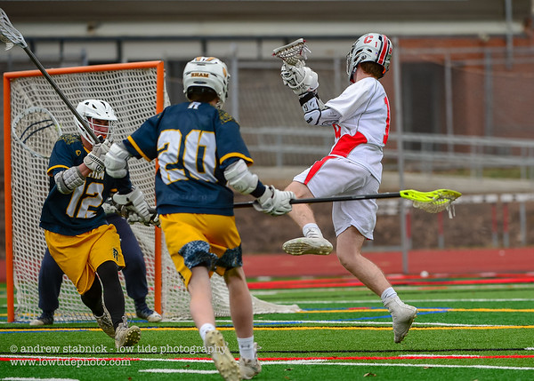 Another big win over RHAM bringing the boys' lax record to 4-2. Cheshire is up tomorrow at home, good luck!