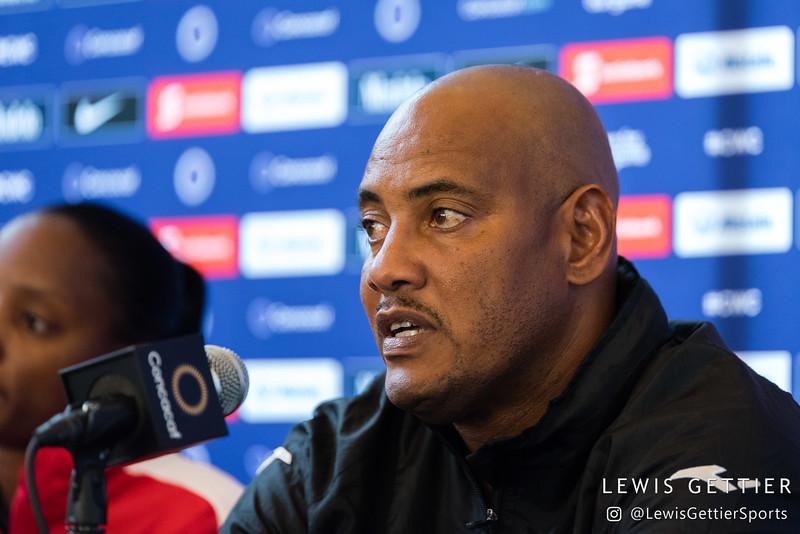 Trinidad & Tobago head coach Shawn Cooper