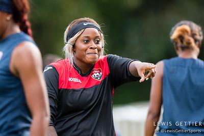 Trinidad & Tobago goalkeeper Saundra Baron (20)