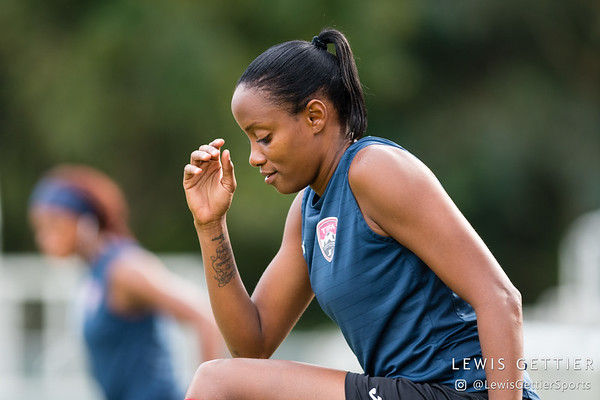 Trinidad & Tobago forward Tasha St. Louis (10)