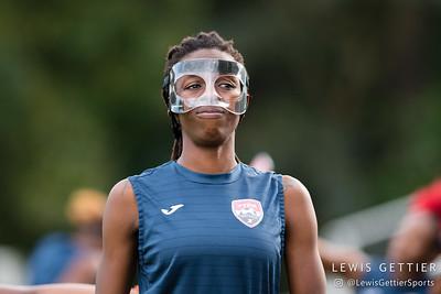 Trinidad & Tobago defender Jenelle Cunningham (13)