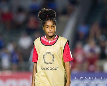 Trinidad & Tobago midfielder Kayla Taylor (12)